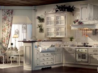 кухня в стиле прованс на заказ купить недорого в киеве цена и фото